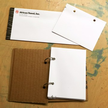Recycled Envelope Journal