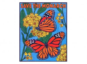 Monarch Mural collaborative art project