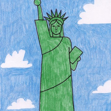 NEW Statue of Liberty Tutorial