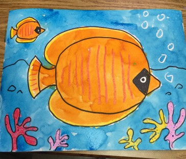 Tropical Fish Painting