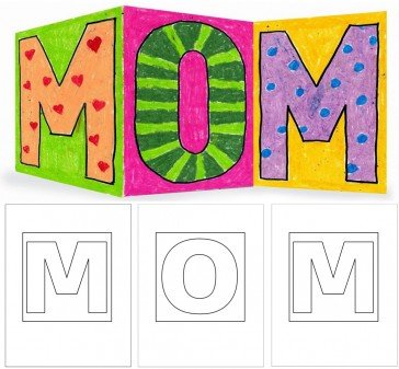 MOM Card Template