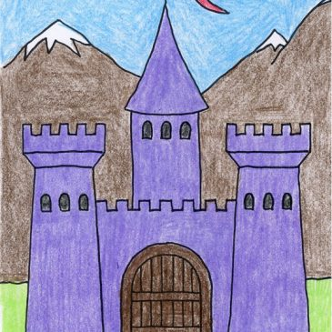 Draw a Midieval Castle