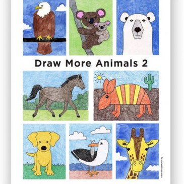 NEW! Draw More Animals 2 eBook