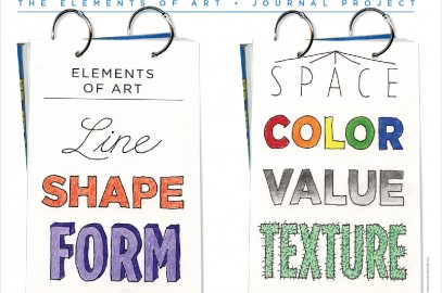 New Elements of Art Template