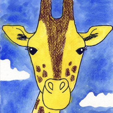 Draw a Giraffe Face