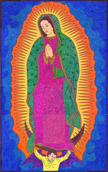 Our Lady of Guadalupe Mural