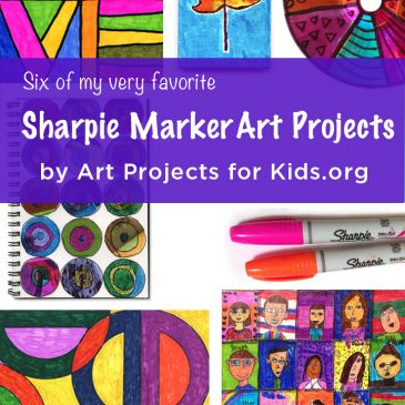 Favorite Sharpie Marker Art Projects