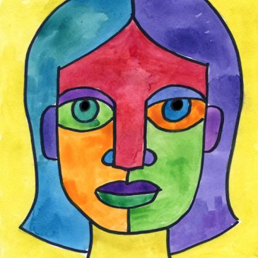 Draw an Abstract Self-Portrait