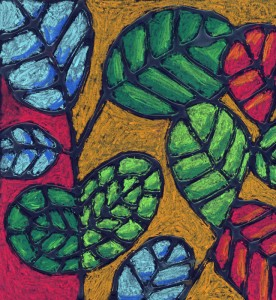 Abstract leaves 700