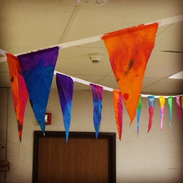 Coffee Filter Flags