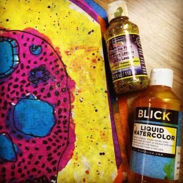 Make Your Own Glitter Paint
