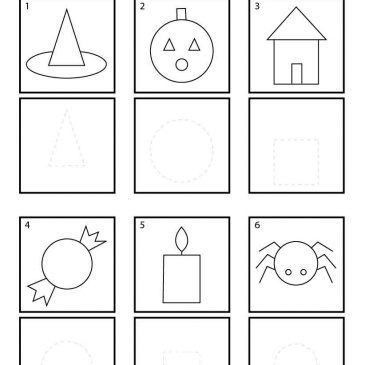 Halloween Shapes for Pre-K