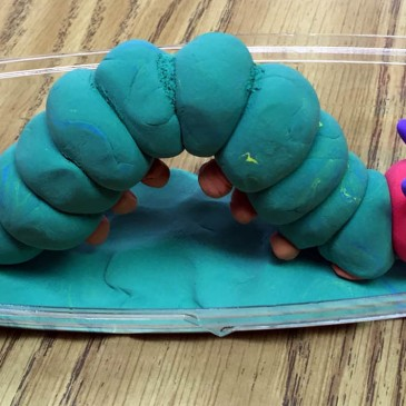 Model Magic Hungry Caterpillar