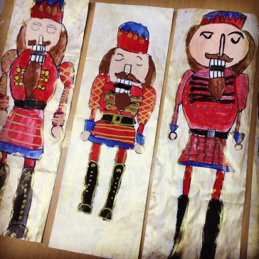Nutcrackers with Fancy Patterns