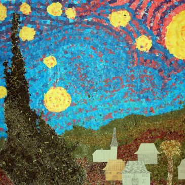 Starry Night Mural from France