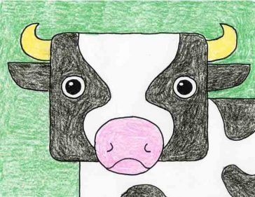 Draw a Cow Head