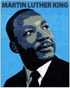 Martin-Luther-King-Mural Template