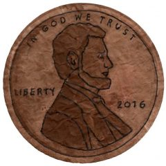 President's Day Penny