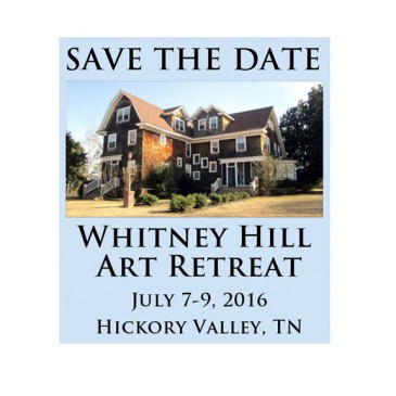 Save the Date for Art Retreat