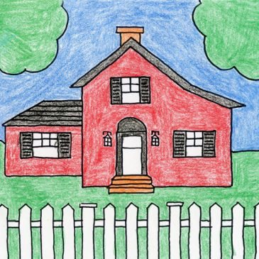 Draw a Country House