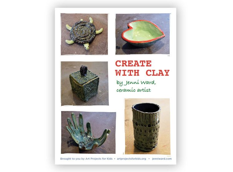Create With Clay EBook Art Projects For Kids