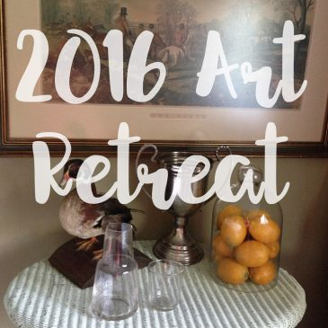 Book Preview at Art Retreat 2016