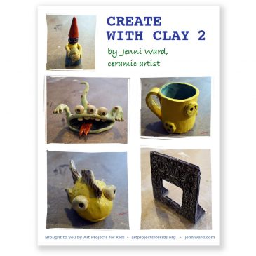 New Ebook, Create with Clay 2