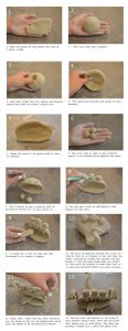 simple clay art projects diagram