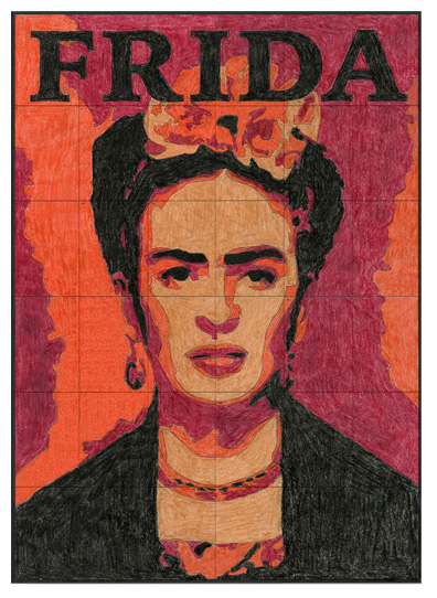 new frida kahlo mural art projects for kids