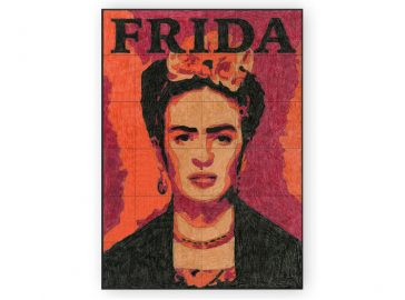 NEW! Frida Kahlo Mural