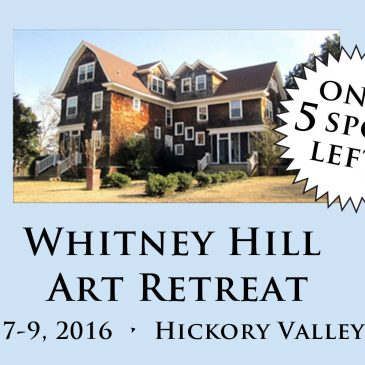 TN Art Retreat, 5 Spots Left