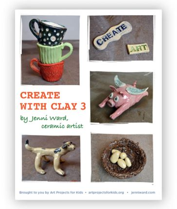 """Create with Clay 3"" eBook"