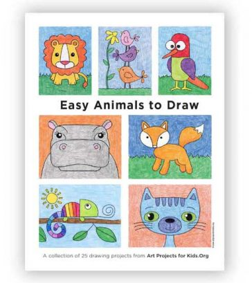 """Easy Animals to Draw"" eBook"