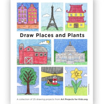 Draw Places and Plants eBook
