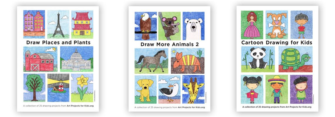 Summer Drawing eBooks for $5