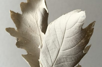 Paper Mache Leaves from Germany