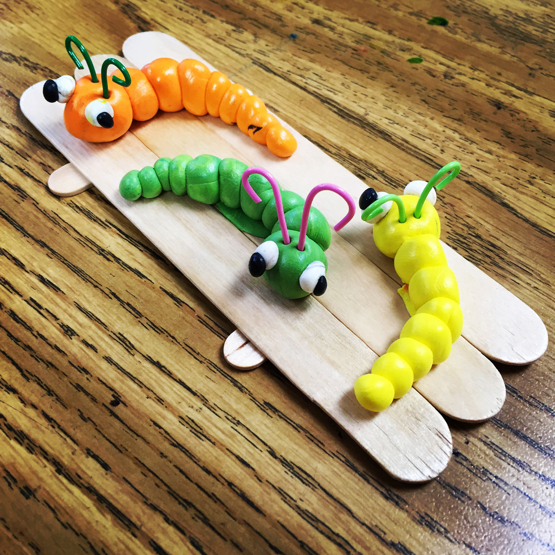 Model Magic Worms Art Projects For Kids