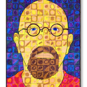 Chuck Close Collaborative Mural