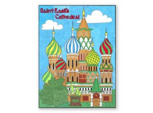 Saint Basil's Cathedral collaborative art project