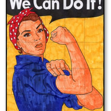 """We Can Do It"" Mural"