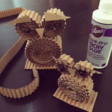 Corrugated Owls