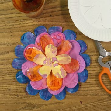 Paper Plate Flower