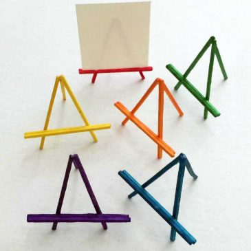 Mini Stick Easels