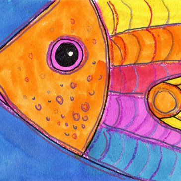 How To Draw a Fish, Close Up