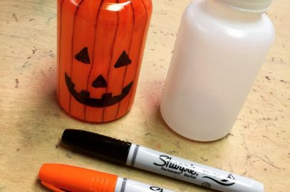 Halloween Recycle Craft Project