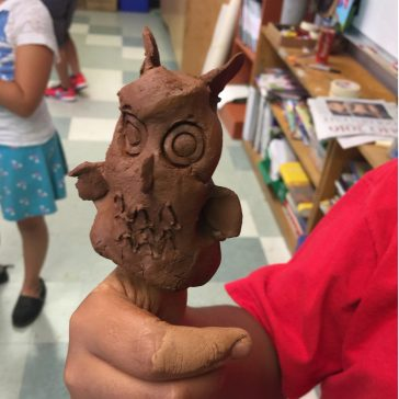 Terra Cotta Ceramic Owl Project