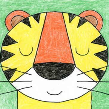 Draw a Tiger Face