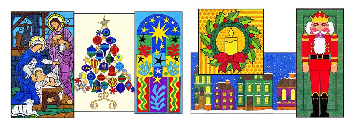 Holiday Mini Murals, just $5