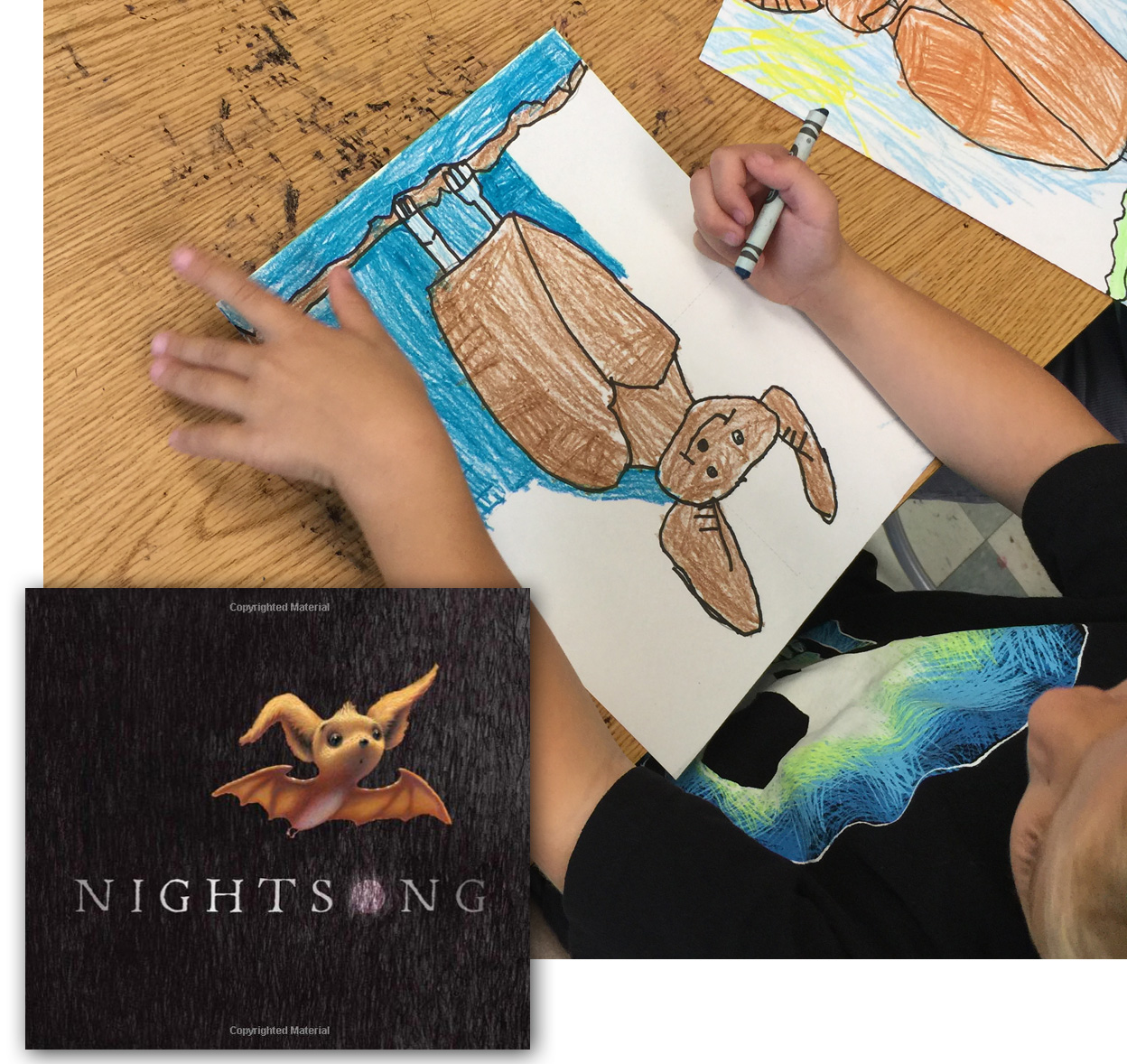 Draw A Bat, And The Perfect Book