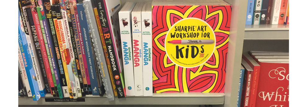 My Sharpie book is in the stores!